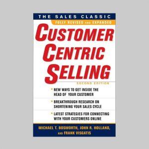 Okładka książki CustomerCentric Selling